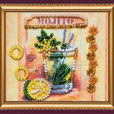 Набор для вышивки бисером магнит Мохито