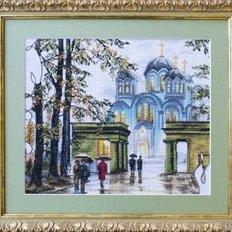 Набор для вышивки крестом Владимирский собор