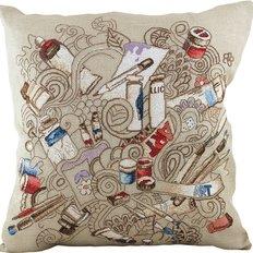 Набор для вышивки крестом, подушка. Серия Творческое вдохновение