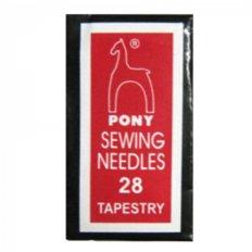 Иглы для вышивания Pony №28