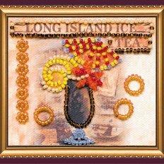 Набор для вышивки бисером магнит Лонг Айленд
