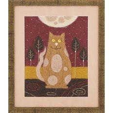 Набор для валяния Триптих Жил-был кот