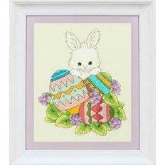 Набор для вышивки крестом Пасхальный заяц