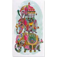 Набор для вышивки бисером Три слона на счастье