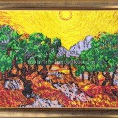 Набор для вышивки бисером Солнце в оливковом саду