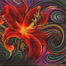 Набор для вышивки бисером Чудесная лилия