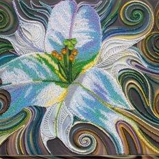 Набор для вышивки бисером Принцесса флоры