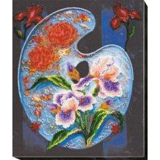 Набор для вышивки бисером Цветочная палитра