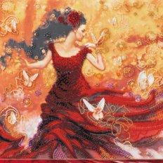 Набор для вышивки бисером Танцующая свет