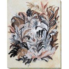 фото: картина для вышивки бисером, Рисунок сепией