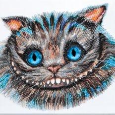 фото: картина для вышивки бисером, Чеширский Кот
