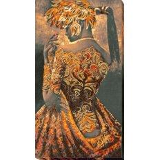 фото: картина для вышивки бисером, Золото ночи