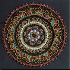 фото: картина для вышивки бисером, Мандала