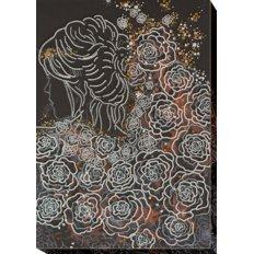 фото: картина для вышивки бисером на холсте, В лунном свете