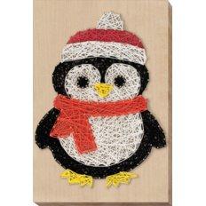 фото: набор стринг-арт, пингвин