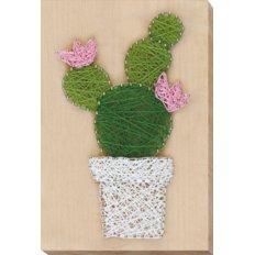 фото: набор стринг-арт, кактус
