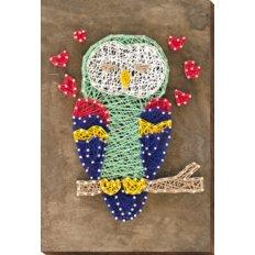 фото: набор стринг-арт, сова