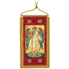 Набор для вышивки бисером Молитва Ангелу-хранителю (украинский текст молитвы)