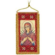 Набор для вышивки бисером &quot,Молитва о сохранении дома(украинский текст молитвы)
