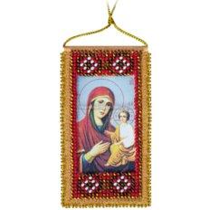 Набор для вышивки бисером Молитва к Божией матери о детях (украинский текст молитвы)