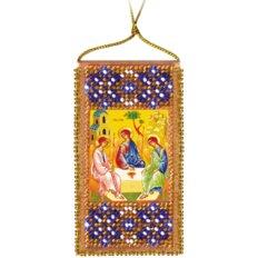 Набор для вышивки бисером &quot,Молитва Пресвятой Троице(украинский текст молитвы)