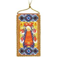 Набор для вышивки бисером Молитва о помощи в учении (украинский текст молитвы)