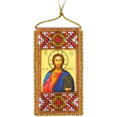 Набор для вышивки бисером Молитва Господня. Отче наш (украинский текст молитвы)
