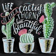 фото: картина для вышивки бисером кактусы