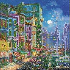 фото: картина для вышивки бисером городской пейзаж Венеция