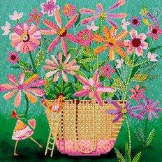 Схема для вышивки бисером Свой садик