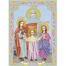 Схема для вышивки бисером «Святые Вера, Надежда, Любовь и мать их София»
