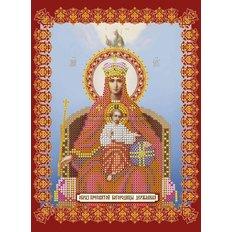 Схема для вышивки бисером «Божья матерь Державная»