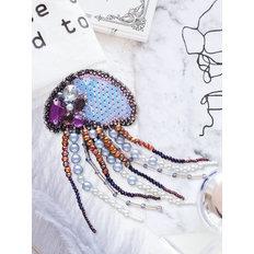 фото: украшение, вышитое бисером, Медуза