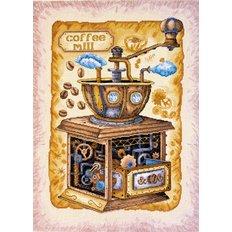 Набор для вышивки крестом Кофе в зернах