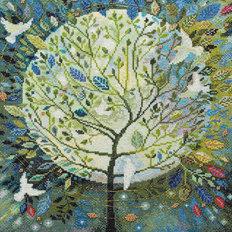 фото: картина для вышивки крестом, Древо мира