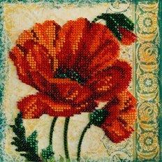 Набор для вышивки бисером Красный бархат