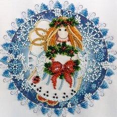 Набор для вышивки бисером Рождественский ангел
