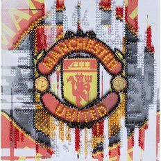 фото: картина для вышивки бисером ФК Манчестер Юнайтед