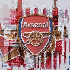 фото: картина для вышивки бисером ФК Арсенал