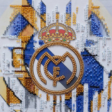 фото: картина для вышивки бисером ФК Реал Мадрид