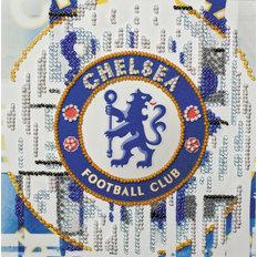 Фото: картина для вышивки бисером эмблемы ФК Челси