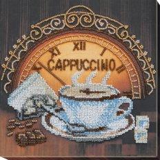 фото: картина для вышивки бисером чашка капучино