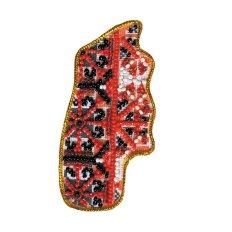 Набор для вышивки бисером магнит Карта Украины Хмельницкая область