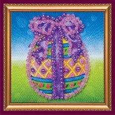 Набор для вышивки бисером магнит Пасхальное яйцо-1