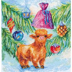 фото: картина для вышивки крестом, Новогодний хорошка