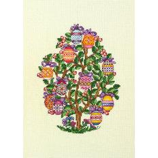 фото: картина для вышивки крестом, Пасхальное дерево