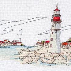 фото: картина для вышивки крестом, Свет маяка