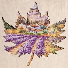 фото: картина для вышивки крестом, Лавандовые поля