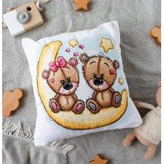 фото: подушка для вышивки крестом, Добрых снов