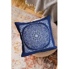 фото: подушка для вышивки крестом, Серебро